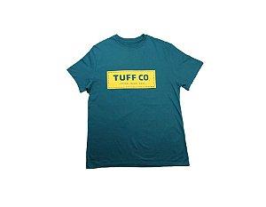 Camiseta Tuff Masculina Petróleo Silk Amarelo TS3422