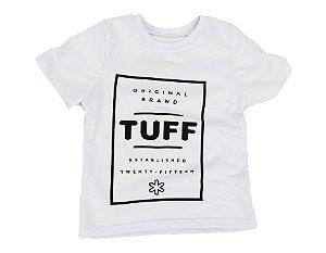 Camiseta Tuff Infantil Branca Silk Preto TS3598