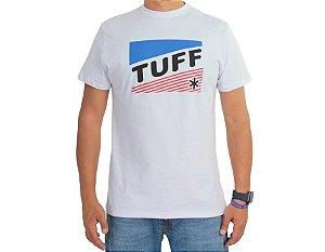 Camiseta Tuff Masculina Branca Silk Logo TS3386