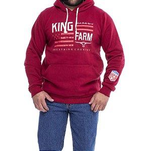 Moletom King Farm Vermelho KMFV161