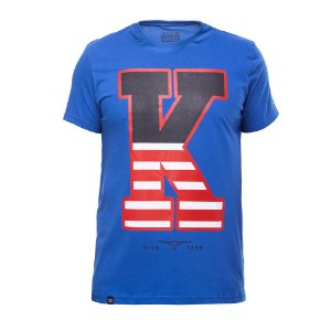 Camiseta King Farm Masculina Azul GCM163A