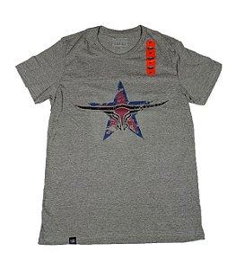Camiseta King Farm Masculina Cinza GCM174