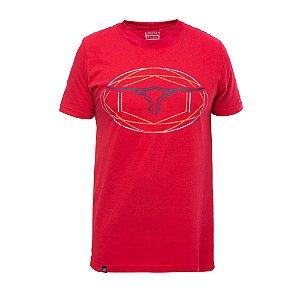 Camiseta King Farm Masculina Vermelho GCM183