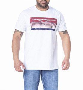Camiseta King Farm Masculina Branco GCM152