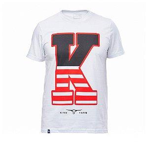 Camiseta King Farm Masculina Branco GCM163B