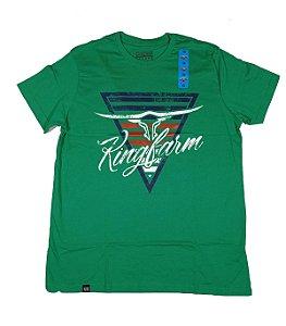 Camiseta King Farm Masculina Verde GCM162V