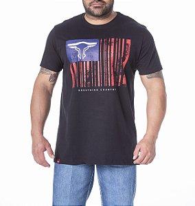 Camiseta King Farm Masculina Preto GCM191