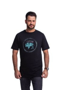 Camiseta Tatanka Masculina Bison Preto TTK042102