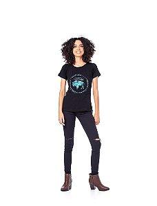 Camiseta Tatanka Feminina Preto TTK0421114
