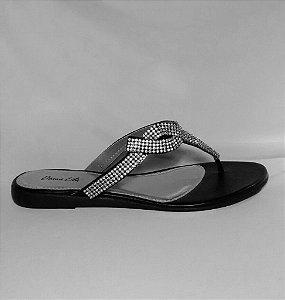 Sandália rasteira Indiana Preto
