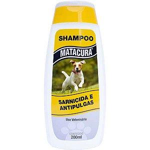 Shampoo Matacura Sarnicida e Antipulgas para Cães