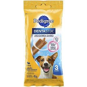 Pedigree Dentastix Cuidado Oral Para Cães Adultos Raças Pequenas - 45g