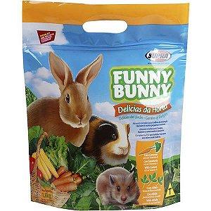 Ração Supra Funny Bunny Delícias da Horta - 1,8kg