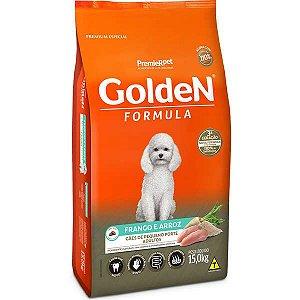 Ração Golden Cães Adultos Frango e Arroz Mini Bits