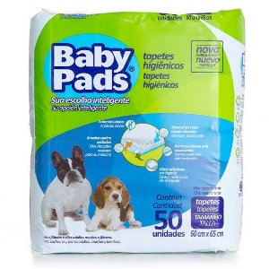Tapete Higiênico Baby Pads - 50uni