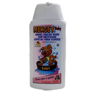 Shampoo Mersey Filhote para Cães e Gatos 250ml