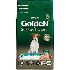 Ração Golden Seleção Natural para Cães Adultos Mini Bits - 1kg