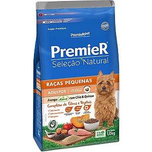 Ração Premier Seleção Natural Frango Korin com Chia & Quinoa Cães Adultos Raças Pequenas - 1kg