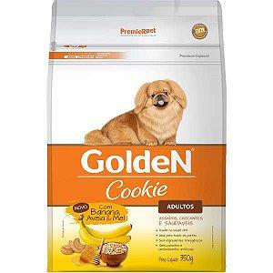 Biscoito Golden Cookie Banana Aveia e Mel para Cães Adultos