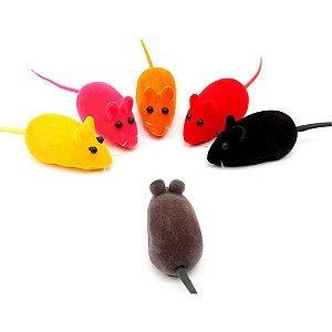 Brinquedo Ratinho Colorido Sortido