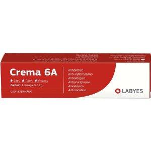 Antibiótico Crema 6A 15gr