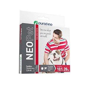 Antipulgas e Carrapatos Neopet 1,34 mL para Cães de 10 á 20 kg