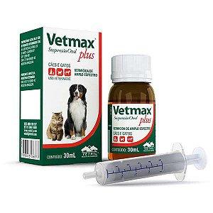 Vermífugo Vetmax Plus Suspensão Oral