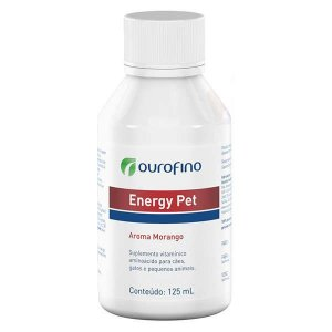 Suplemento Ouro Fino Energy Pet 125ml