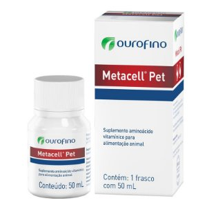 Suplemento Ouro Fino Metacell Pet - 50ml