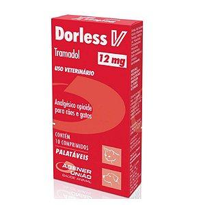 Dorless V 12mg - 10 Comprimidos