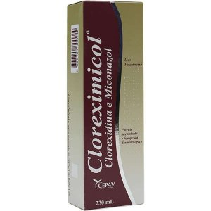Shampoo Antimicrobiano Cloreximicol 230ml
