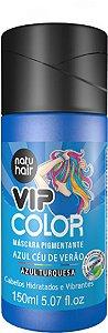 Máscara Pigmentante Vip Color Azul Céu de Verão 150ml