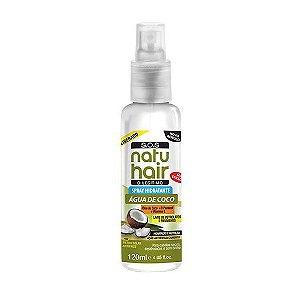 Spray Água de Coco S.O.S NatuHair 120ml