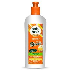 Shampoo Óleo de Rícino S.O.S Natuhair 300ml