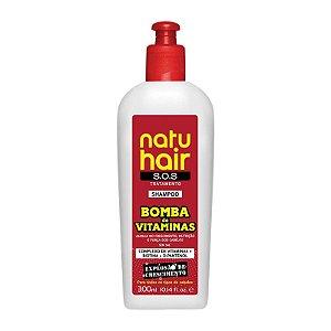 Shampoo Bomba de Vitaminas S.O.S NatuHair 300ml