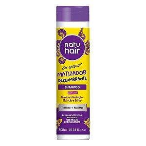 Shampoo Matizador Deslumbrante Eu Quero! NatuHair 300ml