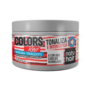 Máscara Tonalizante Colors Red  NatuHair 250g