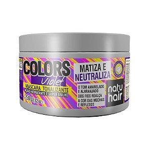 Máscara Tonalizante Colors Violet NatuHair 250g
