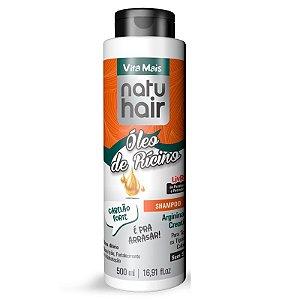 Shampoo NatuHair Vita Mais Óleo de Rícino 500ml