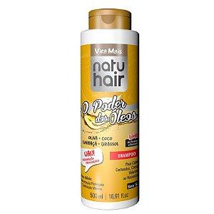 Shampoo Vita Mais NatuHair O Poder dos Óleos 500ml