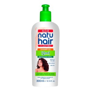Shampoo 12 em 1 S.O.S NatuHair 300ml