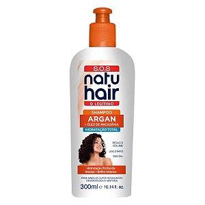 Shampoo Óleo de Argan SOS NatuHair 300ml
