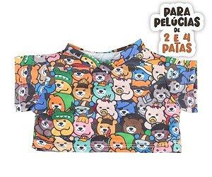 T-shirt Ursinhos