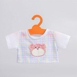 T-Shirt Ursa Rosa Criamigos