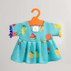 Vestido Azul de Frutas Criamigos