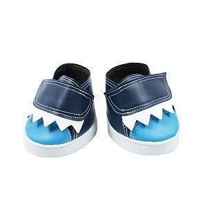 Tênis Azul Tubarão