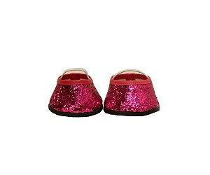 Sapatilha Glitter Pink