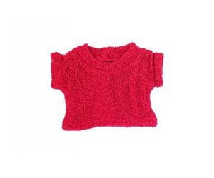 Blusão Trança Rosa