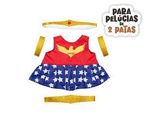 Conjunto Super Mulher
