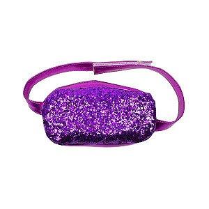 Pochete Glitter Roxo